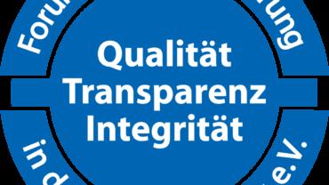 Qualität, Transparenz und Integrität sind mir wichtig